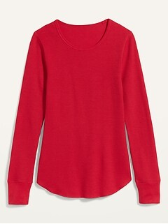 Oldnavy Thermal-Knit Long-Sleeve Tee for Women