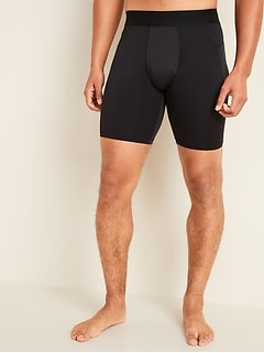Oldnavy Go-Dry Cool Odor-Control Base Layer Shorts for Men -- 9-inch inseam