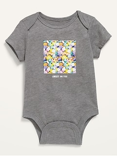 Oldnavy Unisex Holiday-Graphic Bodysuit for Baby