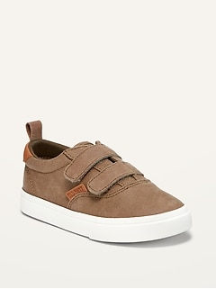 Oldnavy Faux-Suede Double-Strap Sneakers for Toddler Boys