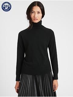 Merino Turtleneck Sweater in Responsible Wool