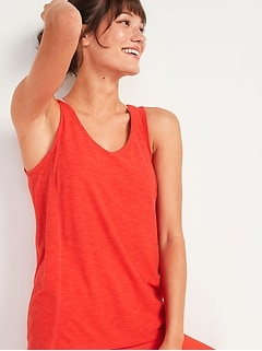 Oldnavy Breathe ON Tie-Back Tank Top for Women