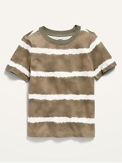 Oldnavy Unisex Striped Short-Sleeve Tie-Dye Tee for Toddler