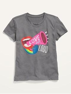Oldnavy Short-Sleeve Graphic Tee for Girls