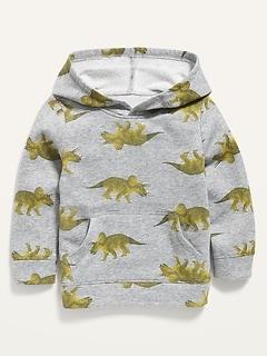 Oldnavy Unisex Dino-Print Pullover Hoodie for Toddler