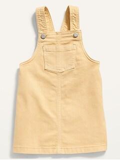 Oldnavy Garment-Dyed Jean Skirtall for Toddler Girls