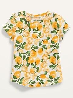 Oldnavy Unisex Printed Short-Sleeve Tee for Toddler