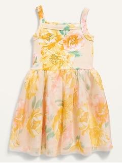 Oldnavy Fit & Flare Tutu Dress for Toddler Girls