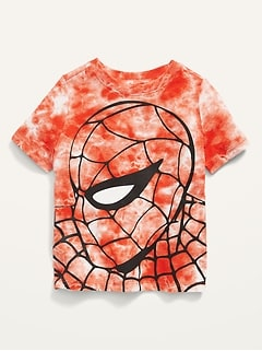 Oldnavy Marvel Comics™ Spider-Man Unisex Tie-Dye Tee for Toddler